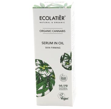 Ecolatier Organic Cannabis serum ujędrniające do twarzy (50 ml)