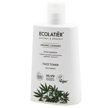 Ecolatier Organic Cannabis tonik do twarzy ujędrniający (250 ml)