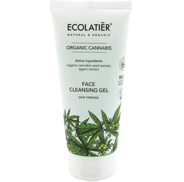 Ecolatier Organic Cannabis 偶el do mycia twarzy oczyszczaj膮cy (100 ml)