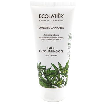 Ecolatier Organic Cannabis 偶el do mycia twarzy z艂uszczaj膮cy (100 ml)
