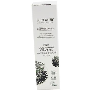 Ecolatier Organic Sambuca Krem-żel matujący do twarzy - cera tłusta (50 ml)