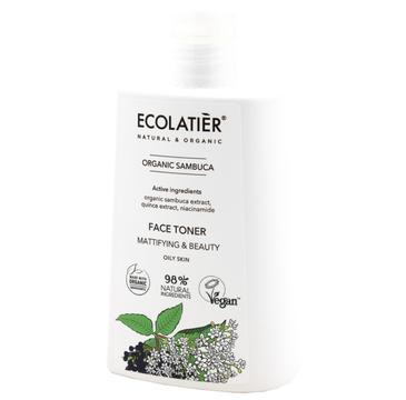 Ecolatier Organic Sambuca tonik matujący do twarzy (250 ml)