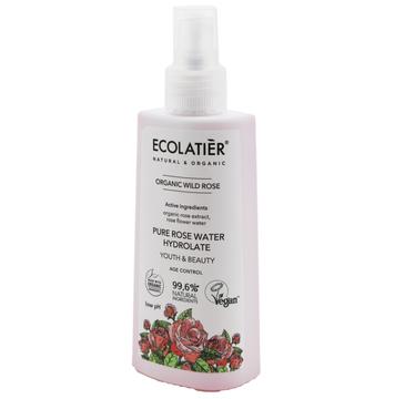 Ecolatier Organic Wild Rose Hydrolat do twarzy przeciwstarzeniowy - cera dojrzała (150 ml)