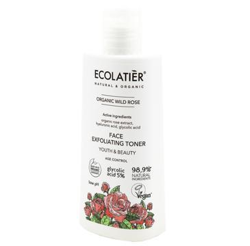 Ecolatier Organic Wild Rose Tonik do twarzy przeciwstarzeniowy - cera dojrzała (100 ml)