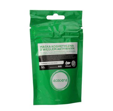 Ecocera maska z węglem aktywnym srebrem i miedzią koloidalną 50 g