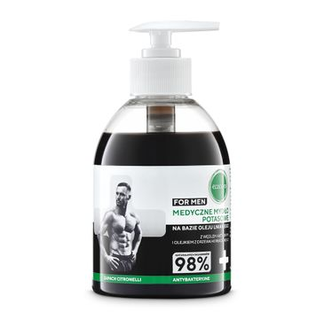 Ecocera Men mydło medyczne z aktywnym węglem 300 ml