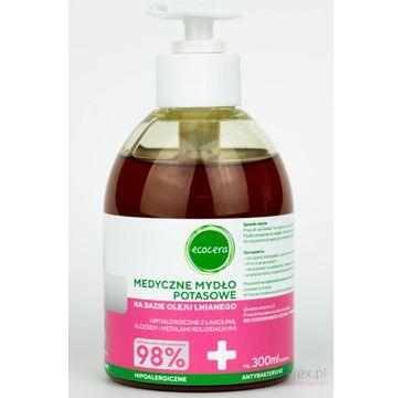 Ecocera mydło medyczne z lanoliną 300 ml