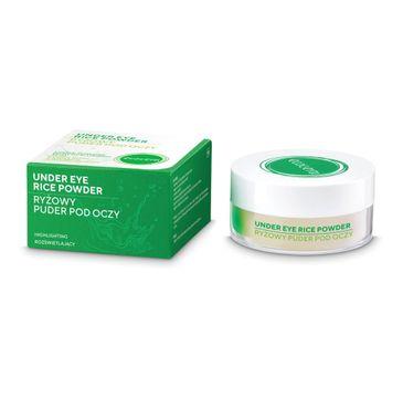 Ecocera Ryżolwy puder pod oczy z kwasem hialuronowym (4 g)