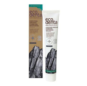 Ecodenta Certified Organic Charcoal Whitening Toothpaste wybielająca czarna pasta do zębów z owocami dżungli (75 ml)