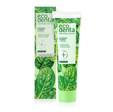 Ecodenta Green Line pasta do zębów ze  szpinakiem (100 ml)