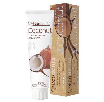 Ecodenta Organic pasta do zębów przeciw kamieniowi Coconut 100 ml