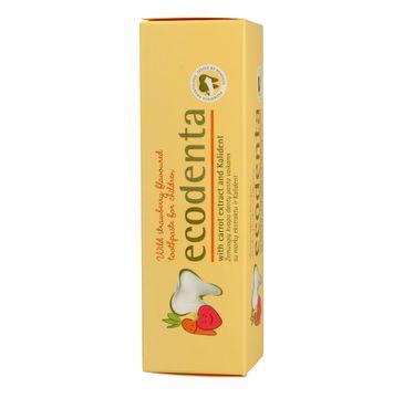 Ecodenta Pasta do zębów dla dzieci poziomka 75 ml