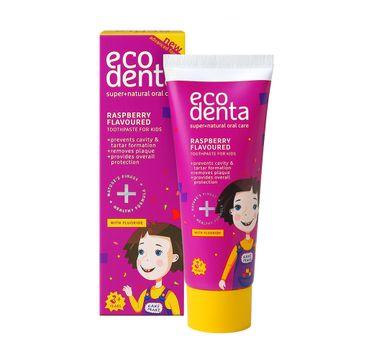 Ecodenta Raspberry Flavoured Toothpaste For Kids pasta do zębów dla dzieci o smaku malinowym (75 ml)