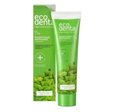 Ecodenta Green Line Wybielająca pasta do zębów z bergamotką, eterycznymi olejkami cytrynowymi i kalidentem (75 ml)