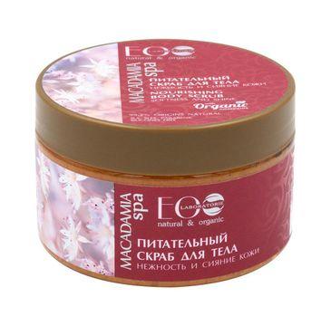 Eo Laboratorie Macadamia Spa Nourishing Body Scrub odżywczy peeling do ciała (250 ml)