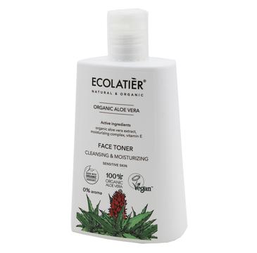 Ecolatier Organic Aloe Vera tonik nawilżający do twarzy cera wrażliwa (250 ml)