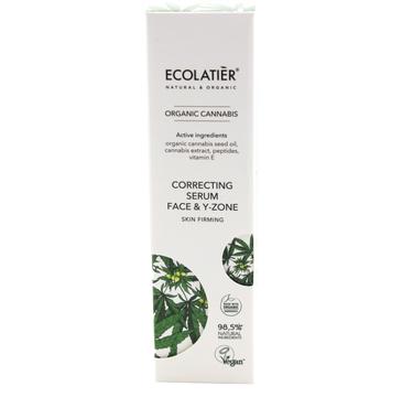 Ecolatier Organic Cannabis serum-korektor ujędrniający do twarzy i szyi (50 ml)