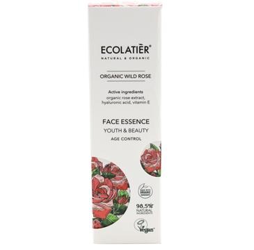 Ecolatier Organic Wild Rose esencja do twarzy przeciwstarzeniowa (30 ml)
