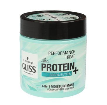 Gliss maska do włosów (Performance Treat do włosów suchych i zniszczonych 400 ml)