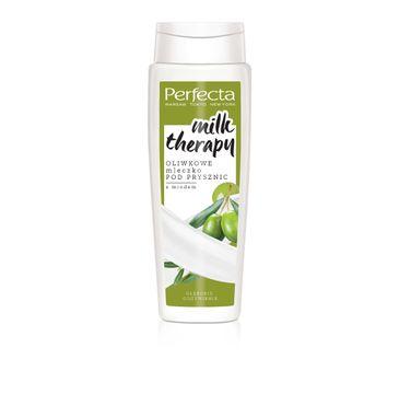 Perfecta Milk Therapy – oliwkowe mleczko pod prysznic (350 ml)