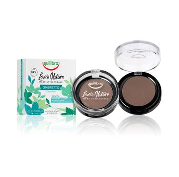 Equilibra Love's Nature Eyeshadow cień do powiek 07 Dark Brown 2.5g