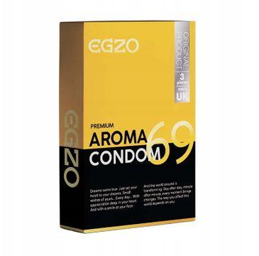 Egzo Traditional Condom prezerwatywy Aroma (3 szt.)