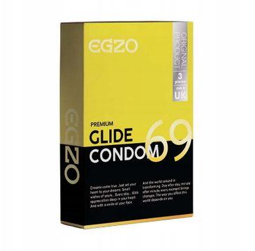 Egzo Traditional Condom prezerwatywy Glide (3 szt.)