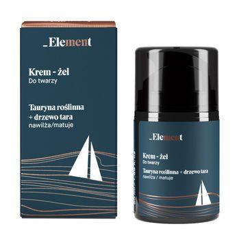 Element – Krem-żel do twarzy dla mężczyzn (50 ml)