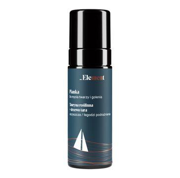 Element – Pianka do mycia twarzy i golenia (170 ml)