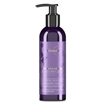 Element Kremowa emulsja do mycia twarzy i dekoltu, bakuchiol + algi (150 ml)