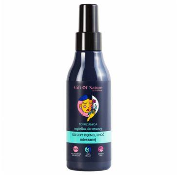 Gift Of Nature – Tonizująca Mgiełka do twarzy do cery mieszanej (150 ml)