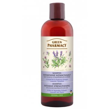 Green Pharmacy – Wzmacniający szampon do włosów Lawenda I Tymianek (500 ml)