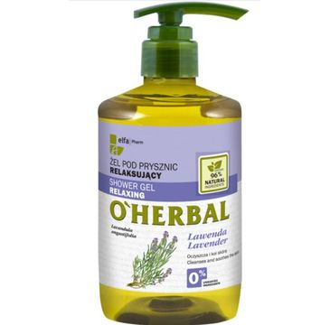 O'Herbal – Relaksujący żel pod prysznic z ekstraktem z lawendy (750 ml)