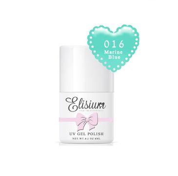 Elisium UV Gel Polish lakier hybrydowy do paznokci 016 Marine Blue (8 ml)