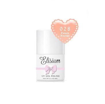 Elisium UV Gel Polish lakier hybrydowy do paznokci 028 Peach Nectar (8 ml)