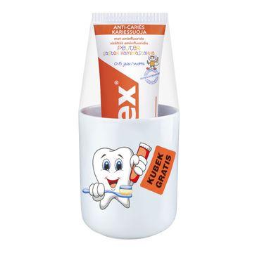 Elmex pasta do zębów dla dzieci 0 do 5 lat 75 ml + kubek