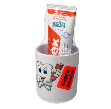 Elmex pasta do zębów Dla Dzieci Junior 5-12 lat 75 ml + kubek