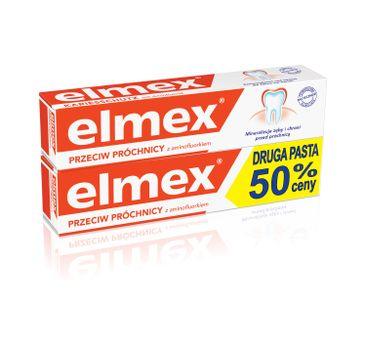 Elmex pasta do zębów + druga za 50% ceny 75 ml x 2