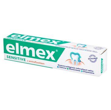 Elmex Sensitive Pasta do zębów z aminofluorkiem  75ml
