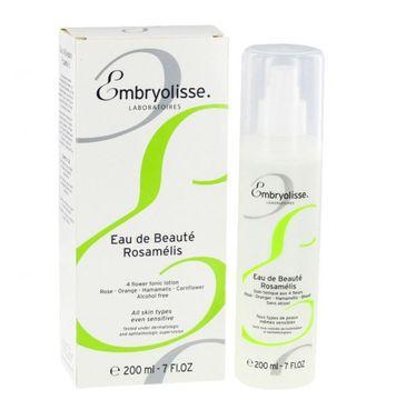 Embryolisse Eau de Beaute Rosamelis 4 Flower Toner naturalne wody oczyszczające i tonizujące skórę 200ml