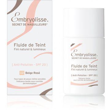 Embryolisse – Fluide De Teint pielęgnujący podkład do twarzy 02 Rose Beige (30 ml)