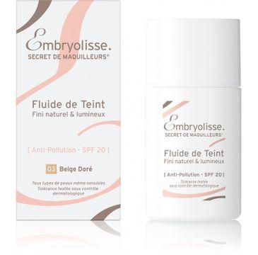 Embryolisse – Fluide De Teint pielęgnujący podkład do twarzy 03 Golden Beige (30 ml)