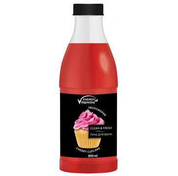 Energy Of Vitamins Pianka do kąpieli Cherry Cupcake (800 ml)