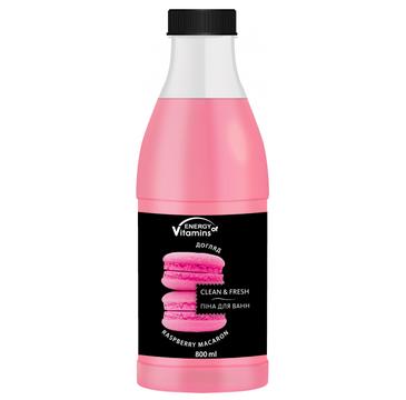 Energy Of Vitamins Pianka do kąpieli Raspberry Macaron (800 ml)