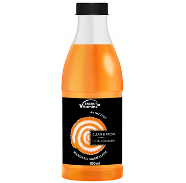 Energy Of Vitamins Pianka do kąpieli Mandarin Marmalade (800 ml)