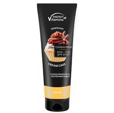 Energy Of Vitamins krem-żel pod prysznic Cream Cake (230 ml)