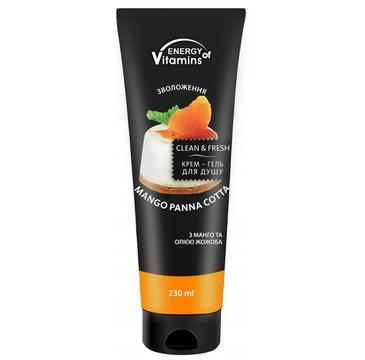 Energy Of Vitamins krem-żel pod prysznic Mango Panna Cotta (230 ml)