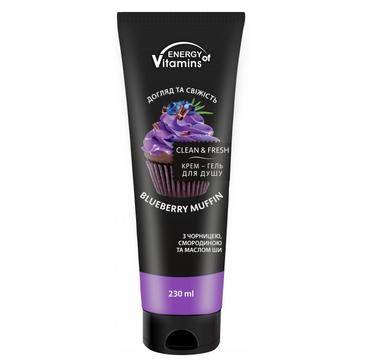 Energy Of Vitamins krem-żel pod prysznic Bluberry Muffin (230 ml)