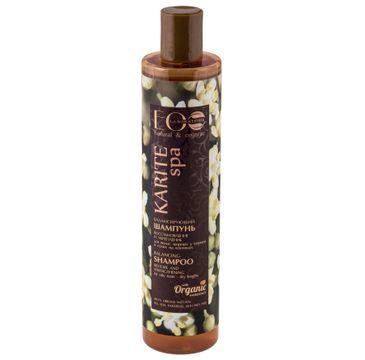 EO Laboratorie Karite SPA szampon przywracający równowagę włosów tłustych 350 ml
