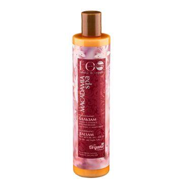 EO Laboratorie Macadamia SPA balsam do włosów cienkich i łamliwych odbudowujący 200 ml